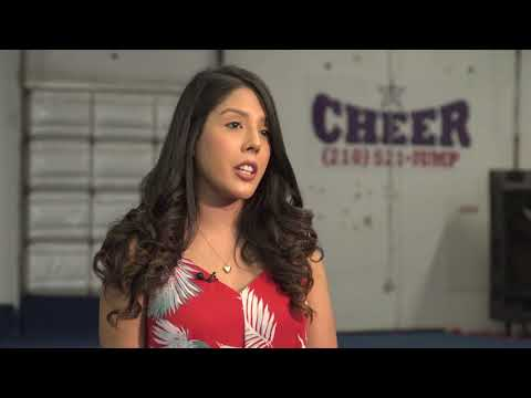 Student Surprises Cheerleader When Military Dad Can't Make It
