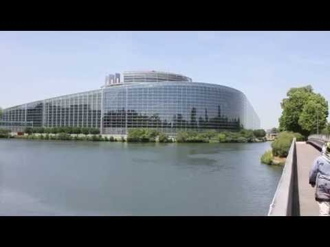 Strasbourg - European Parliament and European Court of Human Rights (HD)