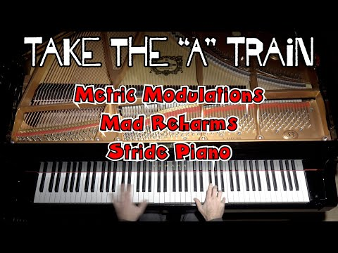 Take the 'A' Train - Insanely Difficult Jazz Piano Arrangement by Jacob Koller with Sheet Music