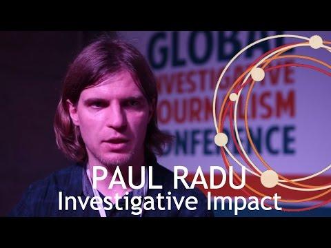 Investigative Impact I Paul Radu (Romania)