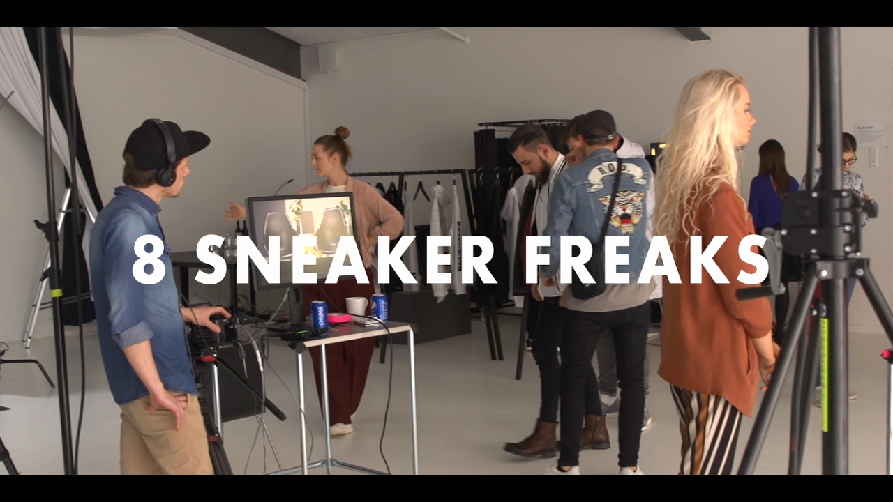 8 sneaker freaks | ambassadors for jack & jones