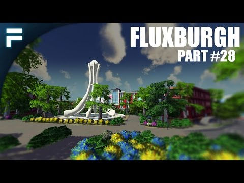 "Cities Skylines - Fluxburgh [PART 28] ""Full-Sized College Campus!"""