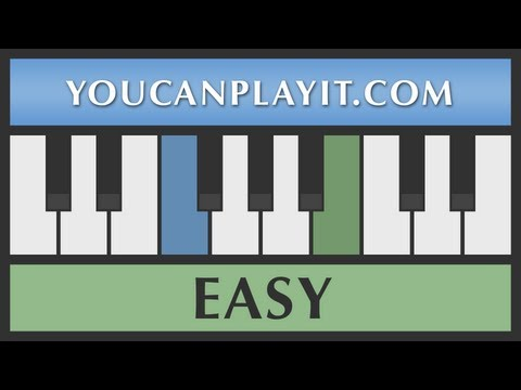 O Canada - Easy Piano Tutorial