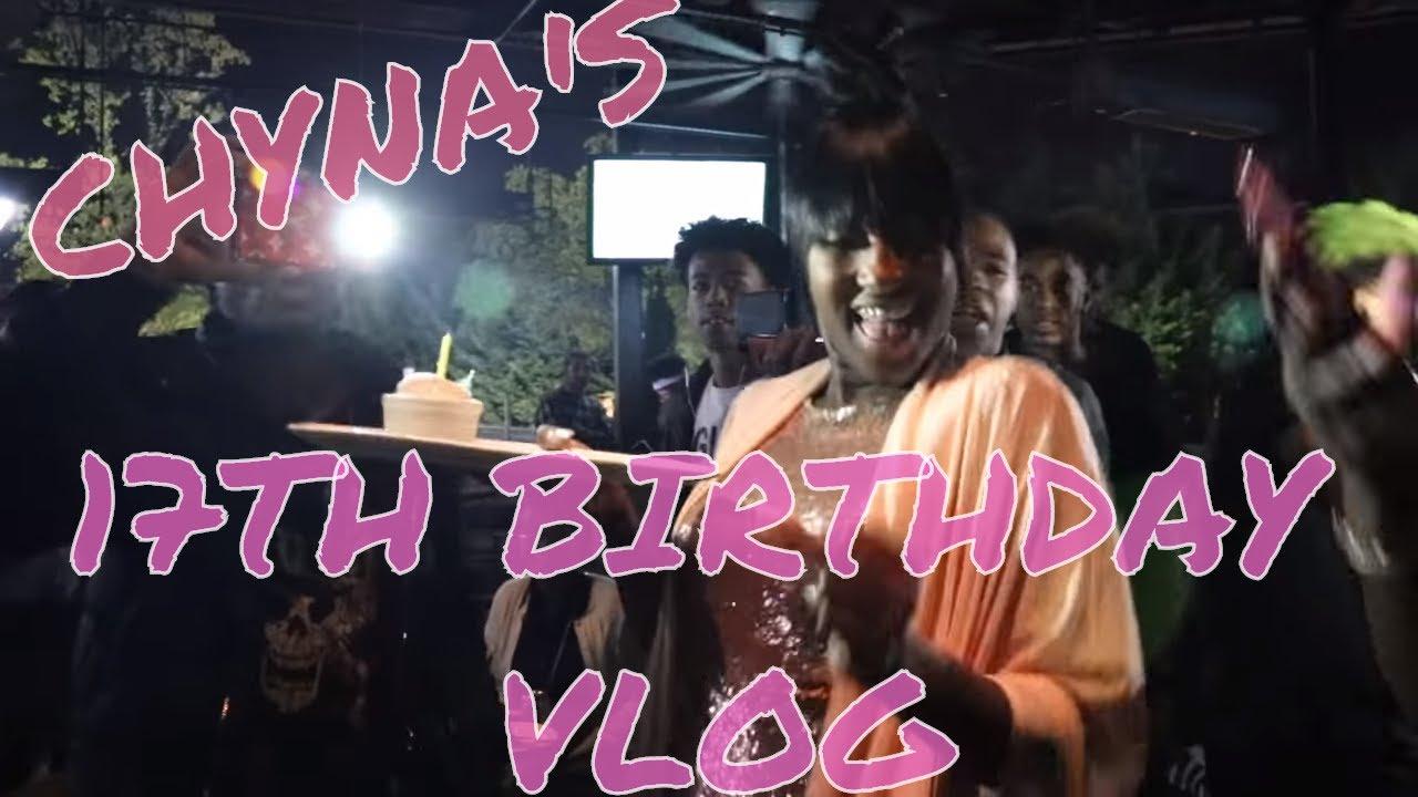 CHY'S 17TH BIRTHDAY VLOG!!!!!!!!! (CHYNA GETS HER NOSE PIERCED!!)
