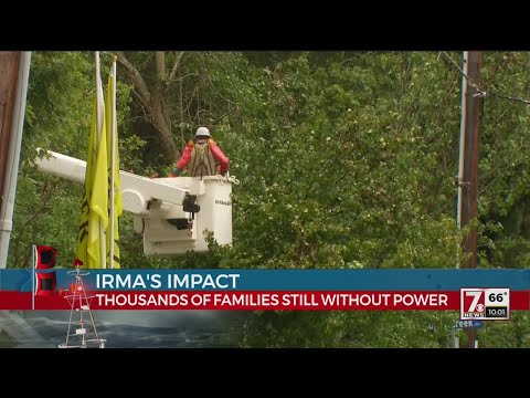 Power expected to be restored by late Friday, Duke Energy says