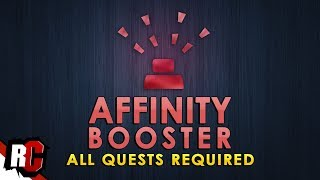 All Quests for AFFINITY BOOSTER (Step-by-Step) | Monster Hunter World (How to get Affinity Booster)