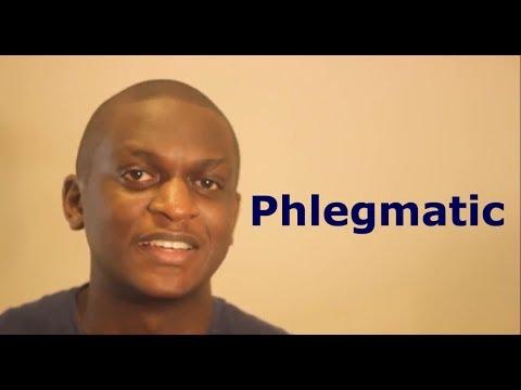 Phlegmatic personality