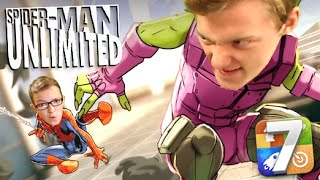 One of Fin's most viewed videos: iOS Tuesday - Spider-Man Unlimited (Review & Gameplay)