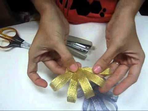 Cách làm nơ gói quà kiểu 2.wmv