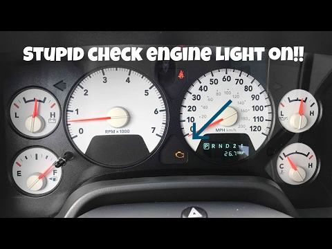 How To Replace Oil Pressure Switch On 5 7 Hemi Check Engine Light Code P0524 Youtube