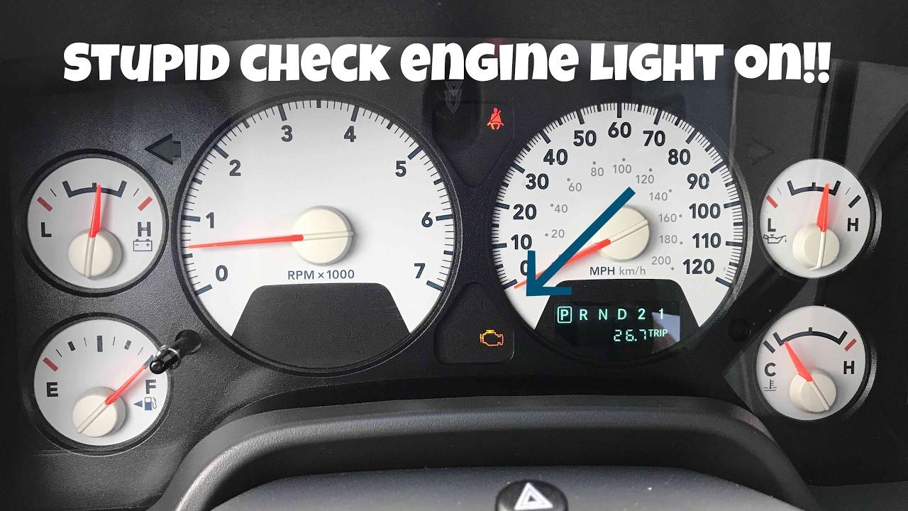 2003 Dodge Durango Check Engine Light Flashing
