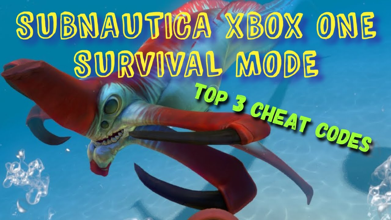 <b>Subnautica</b> Xbox One : Survival Mode : Top 3 <b>Cheats</b> - YouTube