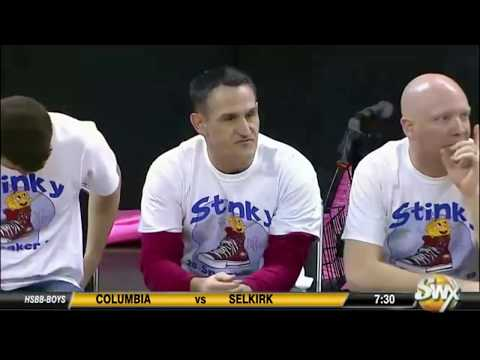 64368450bacbf Stinky Sneaker Boy 39 s Basketball Game 2018 University vs Central Valley  January 19th 2018