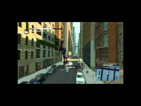 Let's Play The Amazing Spiderman 3 Blind Part 4  -More Crime Fighting!