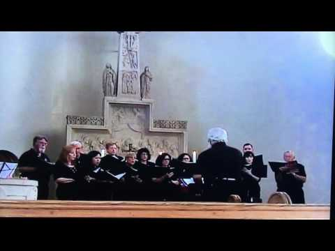 "College of the Mainland choir performs ""The Three Madrigals"""