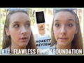 HONEST REVIEW: e.l.f Flawless Finish Foundation | Olivia Haymond