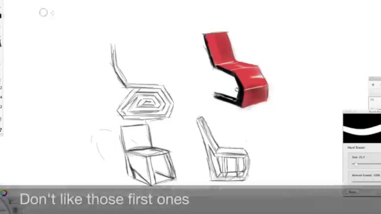 chair design sketches. Simple Chair With Chair Design Sketches