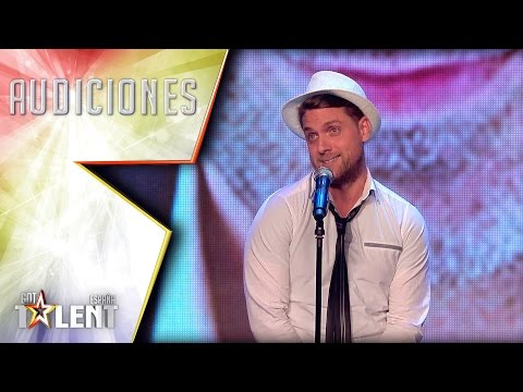 Iván sings with the voice of Spanish celebrities   Auditions 3   Spain's Got Talent 2017