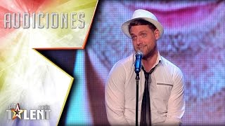Iván sings with the voice of Spanish celebrities | Auditions 3 | Spain's Got Talent 2017