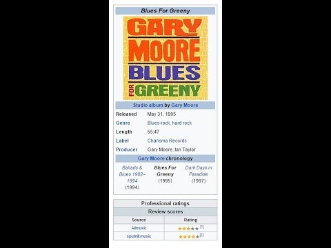 love that burns Gary Moore + Lyrics