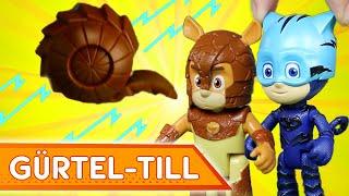 Abenteuer mit Gürtel-Till! ⚡ PJ Masks Deutsch ⚡ Spielzeug für Kinder   Pyjamahelden
