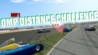 OMP Distance Challenge (Vulcan vs. C63 Touring Car)