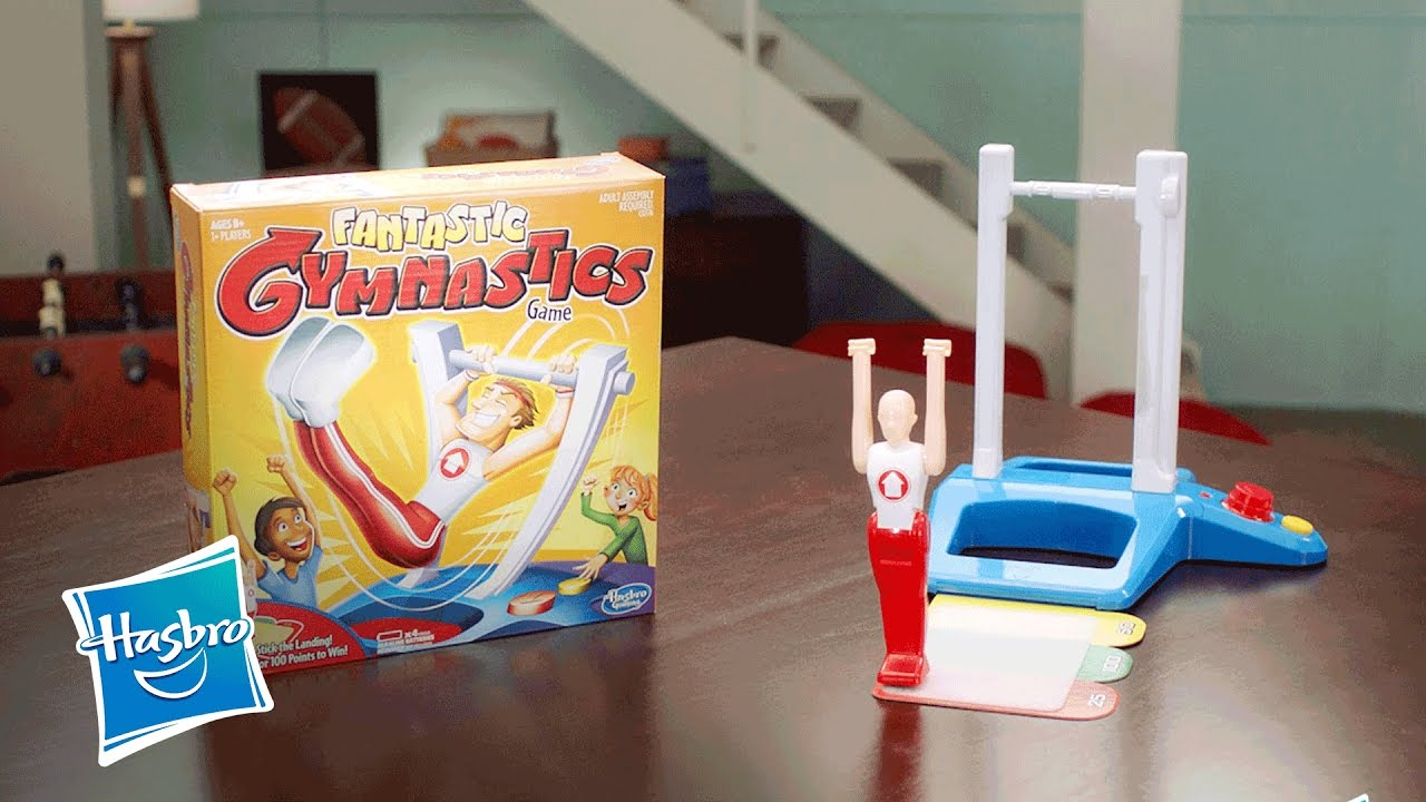fantastic gymnastics. \u0027fantastic gymnastics\u0027 official tv commercial - hasbro gaming youtube fantastic gymnastics