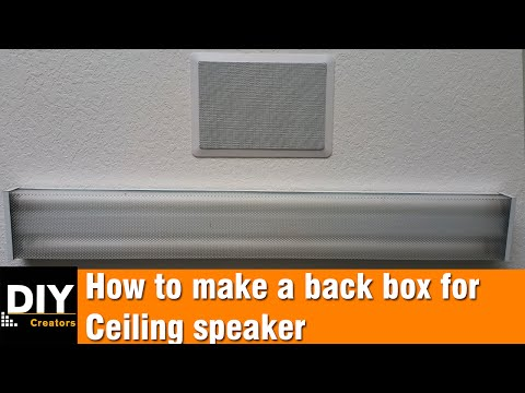 How To Soundproof In-Wall And In-Ceiling Speakers (THE RIGHT
