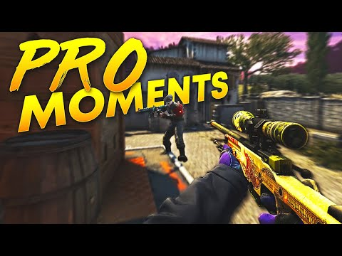 CS:GO - Best PRO Moments! (2018)