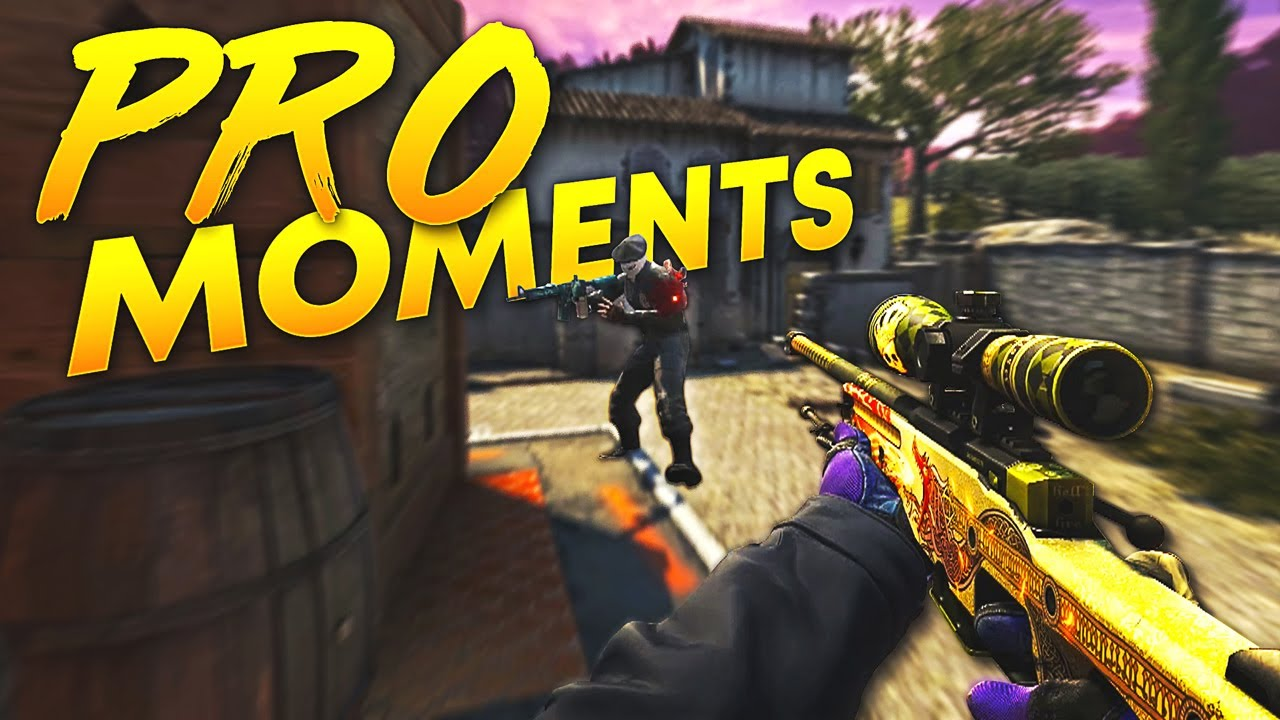CS:GO - Best PRO Moments! (2018) thumbnail