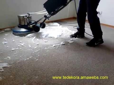 Demostracion de lavado de alfombras en lima lavado con shampoo de espuma seca youtube - Para lavar alfombras ...