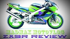 Kawasaki Ninja ZX9R 900cc Review - Full Ride and Video Review - Riding Kawasaki ZX9R Motorcycle