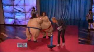 Crazy Game in Sumo Wrestler Suits
