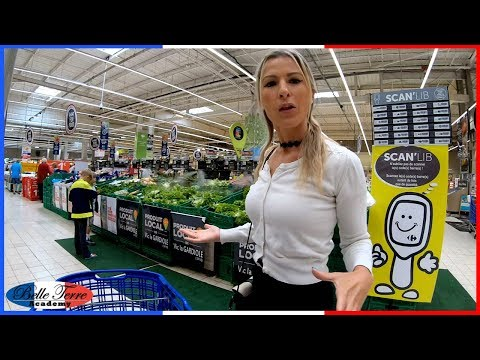 Au Supermarché   Grocery Shopping In France & Some Surprising Differences
