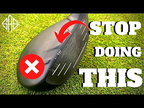 PLEASE STOP DOING THIS TO YOUR EXPENSIVE GOLF CLUBS...
