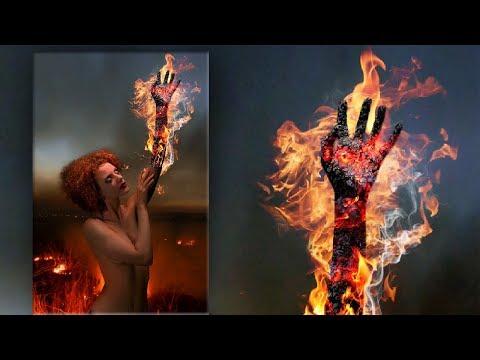 Поджигаем руку в Фотошоп. Фотоманипуляция с эффектом огня