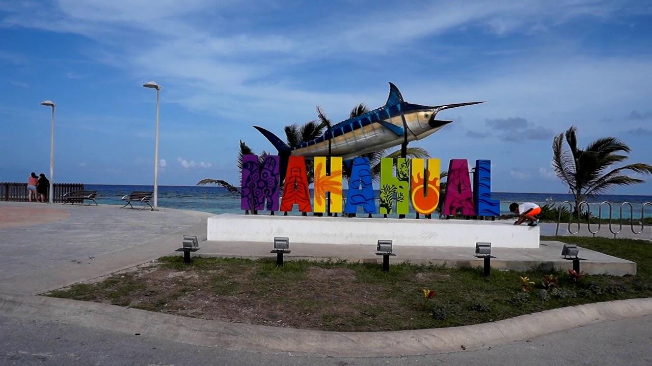 Vistazo A Mahahual Quintana Roo Mexico Youtube