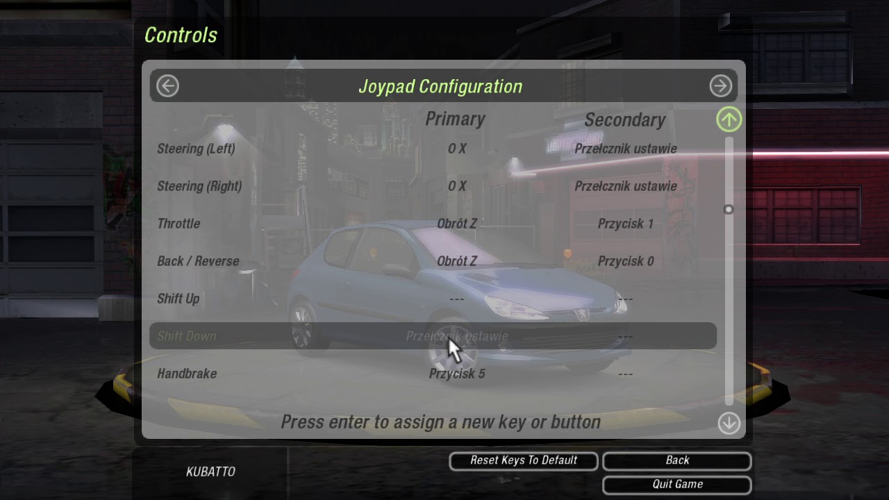 Nfs Underground 2 Dualshock 4 Input Mapper Problem Nvm It S My