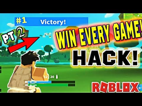 ROBLOX - HOW TO HACK & WIN EVERY GAME IN Island Royale (part 2)