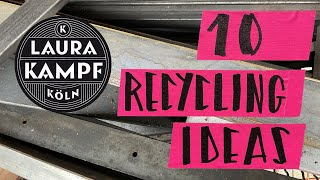 10 Recycling Project Ideas