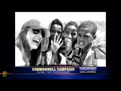 Amy Jo Martin's #Commonwell Campaign on FOX5 Las Vegas