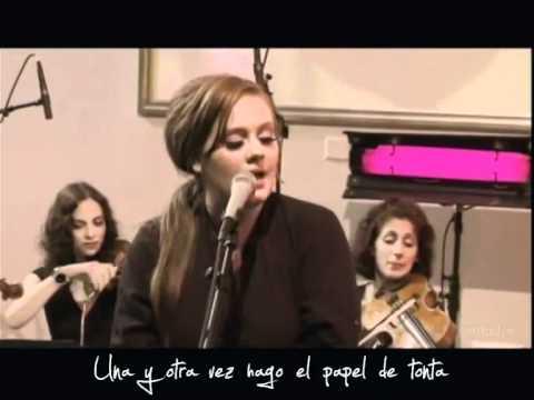 ADELE- Could  Shoulder  (Live) Subtitulada