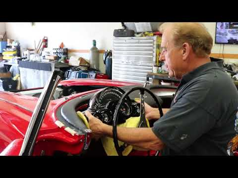 1959 Corvette Cluster Install With Rides And Wrecks