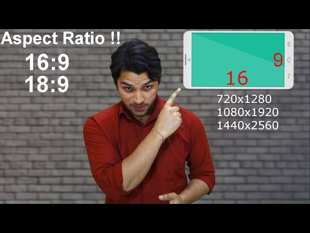 [Hindi-??????] Aspect Ratio Explained || Which one is better 16:9 or 18:9 !! #AnkushTyagiExplains