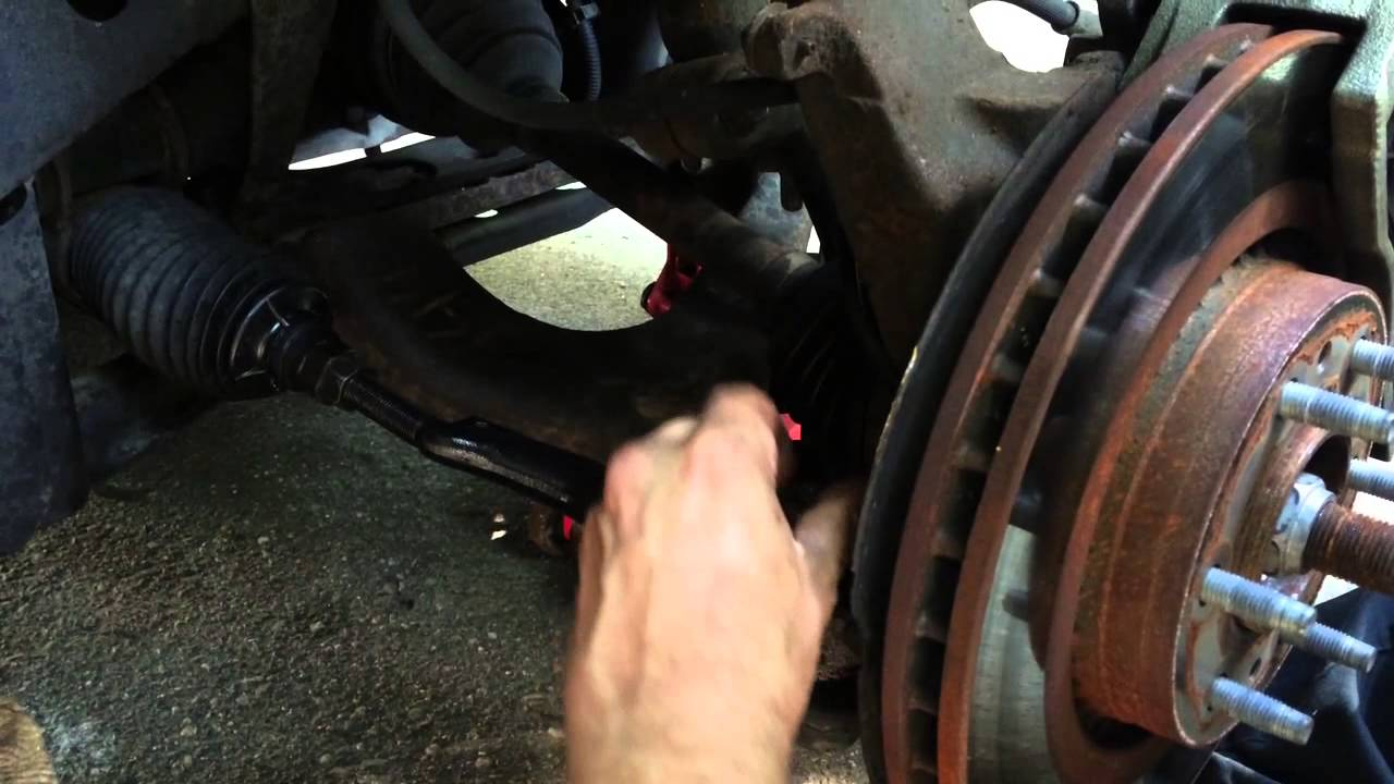 2005 chevy trailblazer ls tie rod replacement [ 1280 x 720 Pixel ]