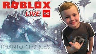 ROBLOX PHANTOM FORCES LIVE STREAM GAMEPLAY - FRANCE BEST ROBLOX VIDEO GAMES - France POUR LES ENFANTS MOMENTS DRÔLES