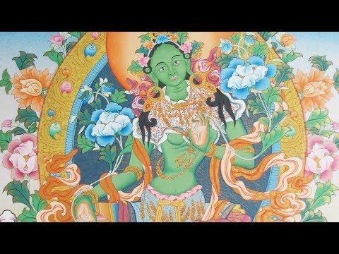 Green Tara Mantra (Om Tare Tuttare Ture Soha) By Imee Ooi