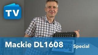 Mixing mit dem Mackie DL 1608 Mischpult - Langzeittest