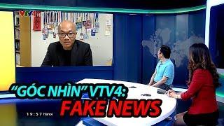 """Phố Bolsa TV tham gia chương trình """"GÓC NHÌN"""" trên kênh VTV4: Vấn nạn Fake News"""