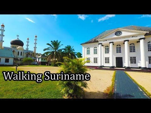 Suriname 2017 -  Walking around Paramaribo - Sept
